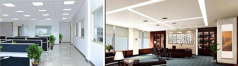 Iluminaci n led para crear un ambiente confortable oficina for Iluminacion de oficinas