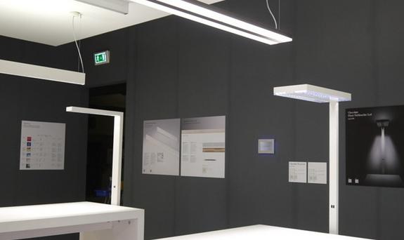 Dise o de iluminaci n oficina europea de led eneltec group for Iluminacion led oficinas